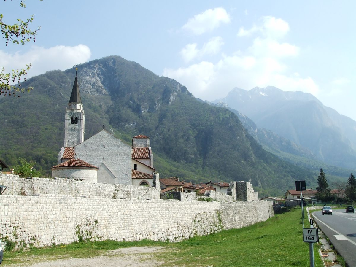 Venzone: inaugurazione della pista ciclabile Venzone-Gemona del Friuli